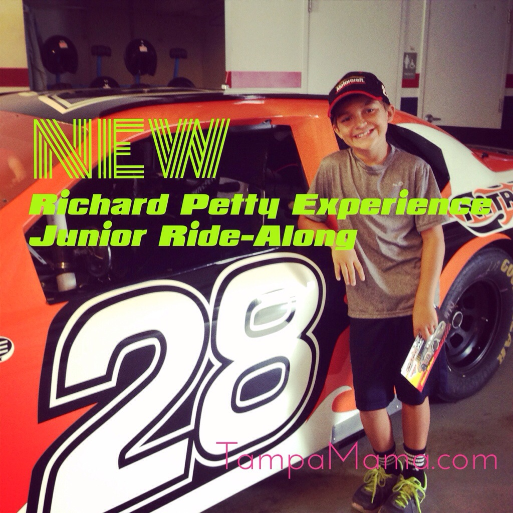 The New Junior Ride-Along Program at the Richard Petty Experience at Walt Disney World