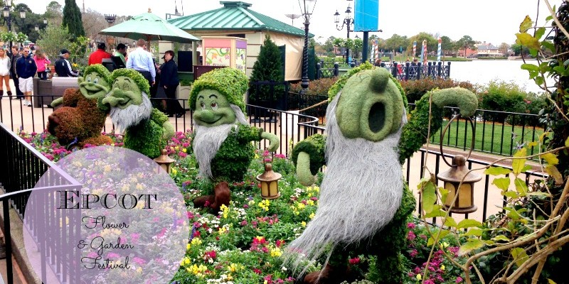 Family Fun at the Epcot International Flower and Garden Festival