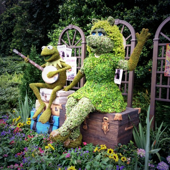 Muppet Topiary Epcot