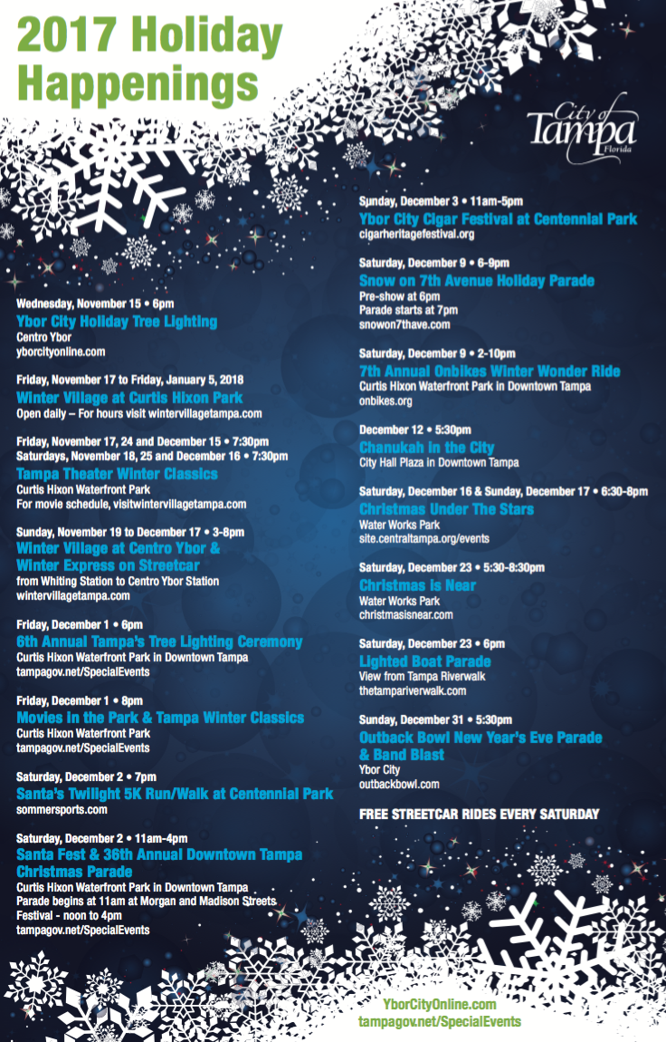 Tampa Christmas Events