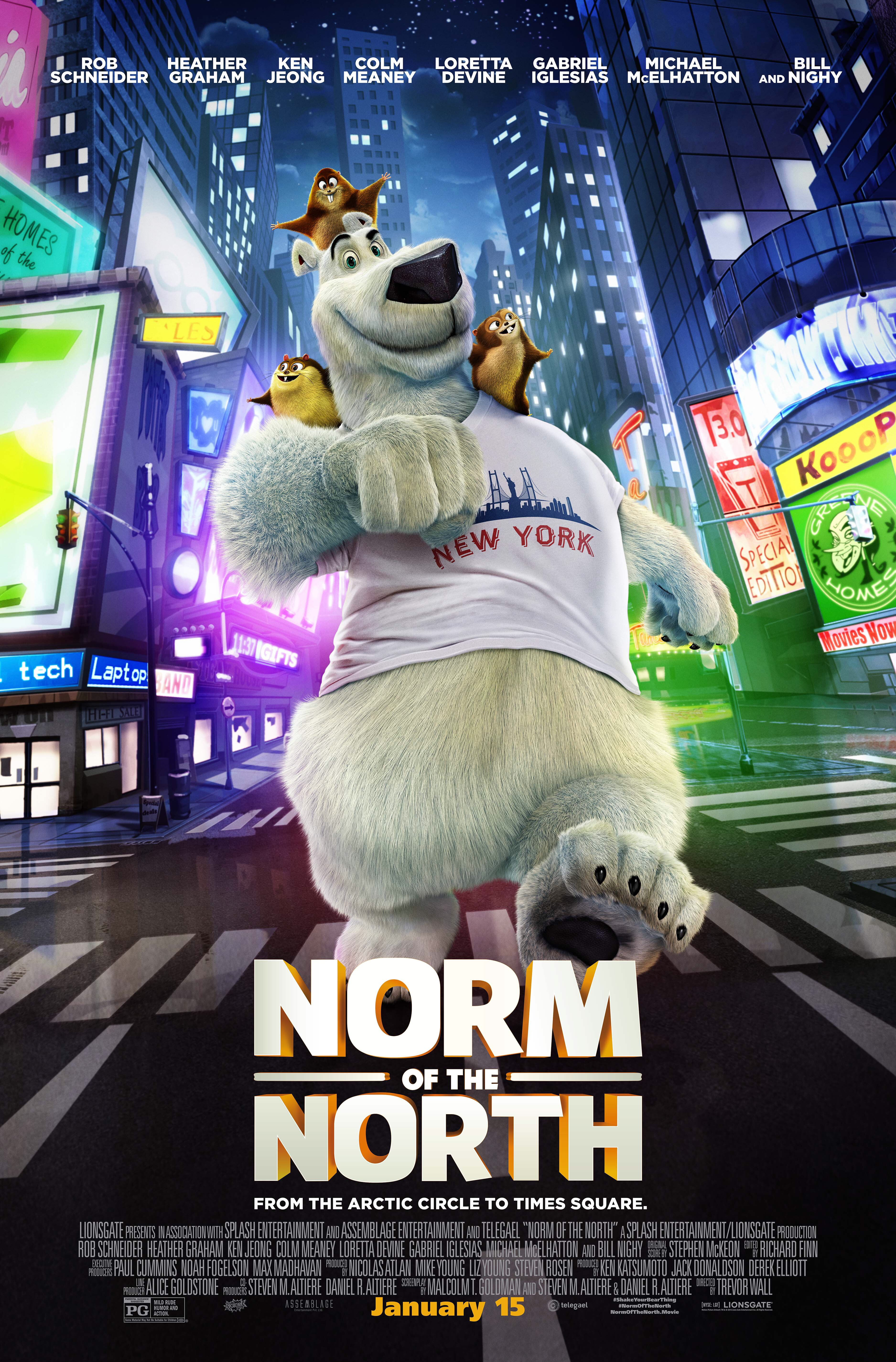 Norm Of The North Movie Party and Ticket Giveaway