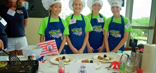 Florida Milk Gridiron Cooking Competition