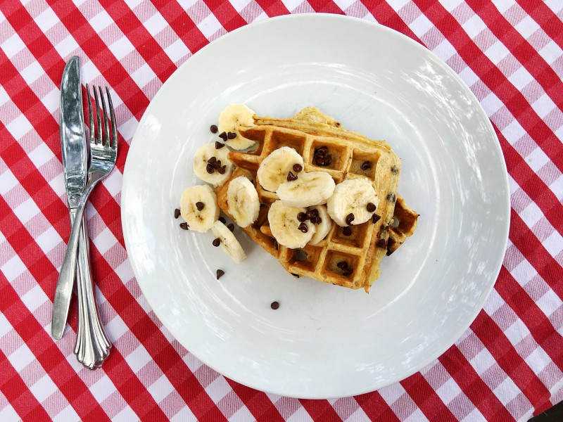 Banana Chocolate Chip Waffles by Tampa Mama (3)