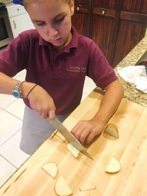 Idaho Potato Cuts Class