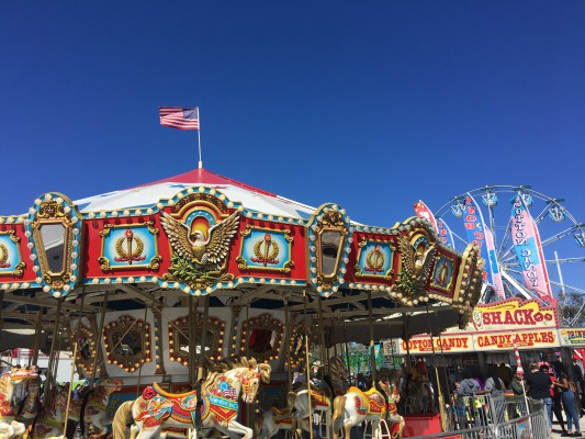 Florida State Fair- Merry Go Round