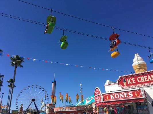 Florida State Fair- Fair Rides