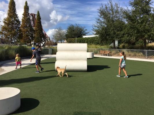 Tampa Dog Park Curtis Hixon Park