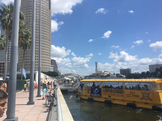 Tampa- Pirate Water Taxi