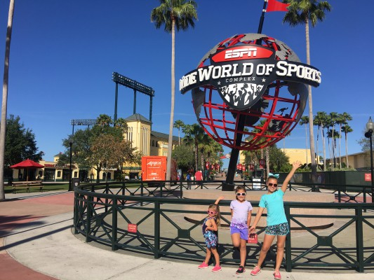 runDisney ESPN Wide World of Sports