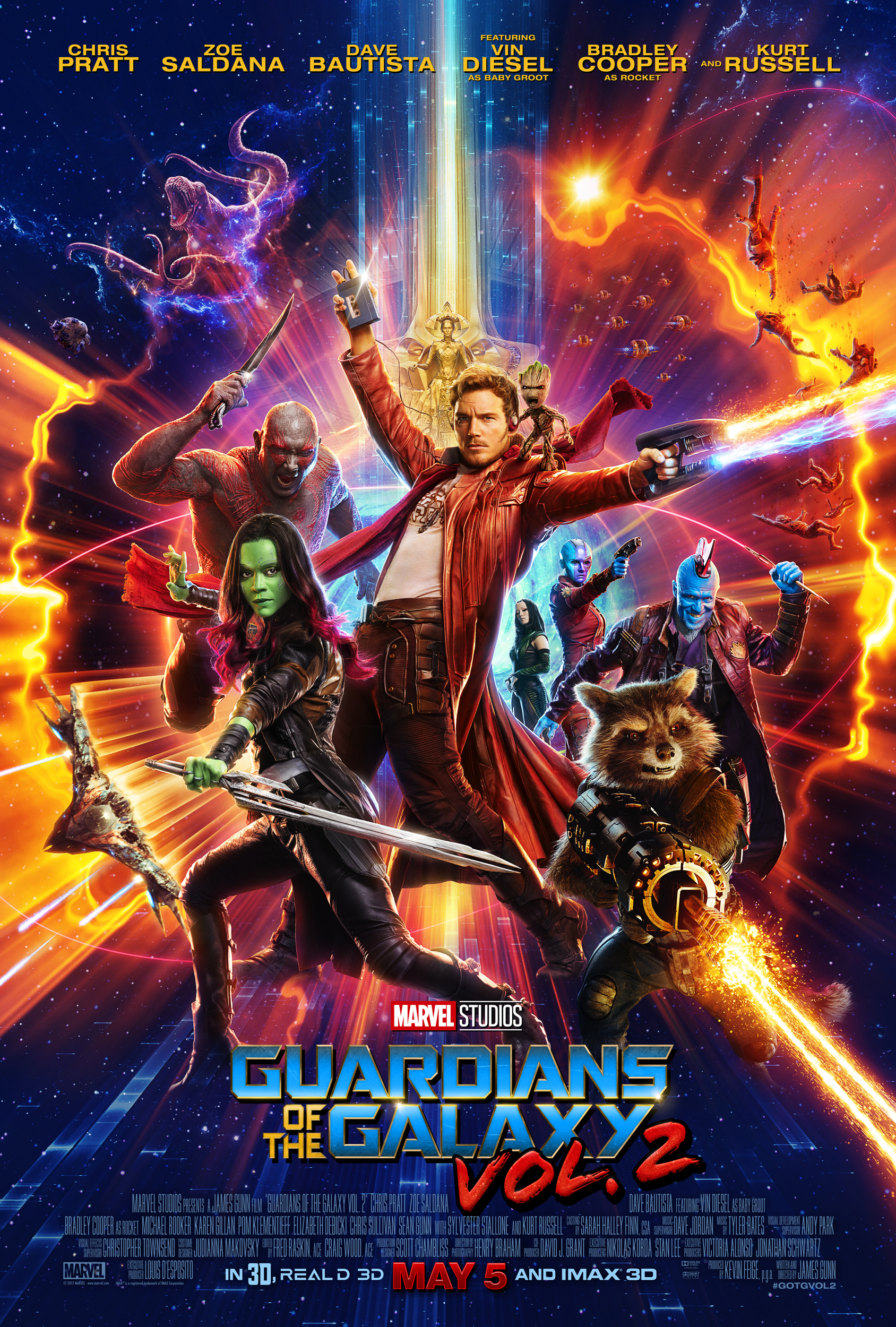 GUARDIANS OF THE GALAXY VOL. 2 is EPIC || #GOTGVOL2
