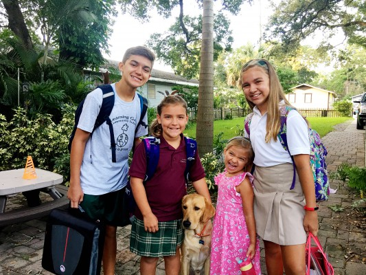 Tampa Mama- First Day of School 2017