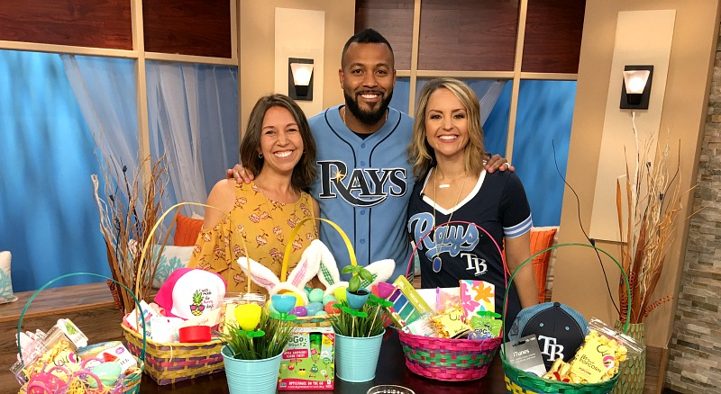 Easter Basket Fun and DIY Spring Crafts by Tampa Mama on Great Day Tampa Bay
