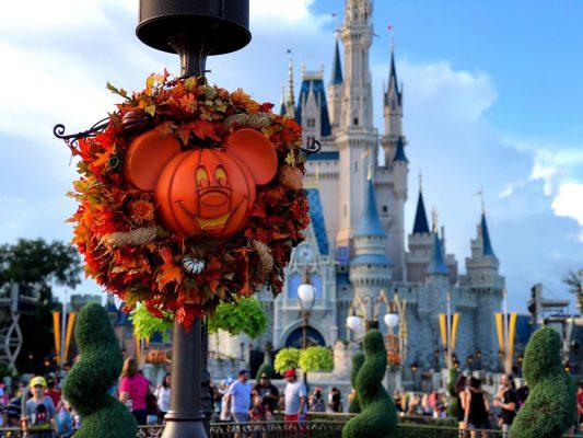 Magic Kingdom at Halloween