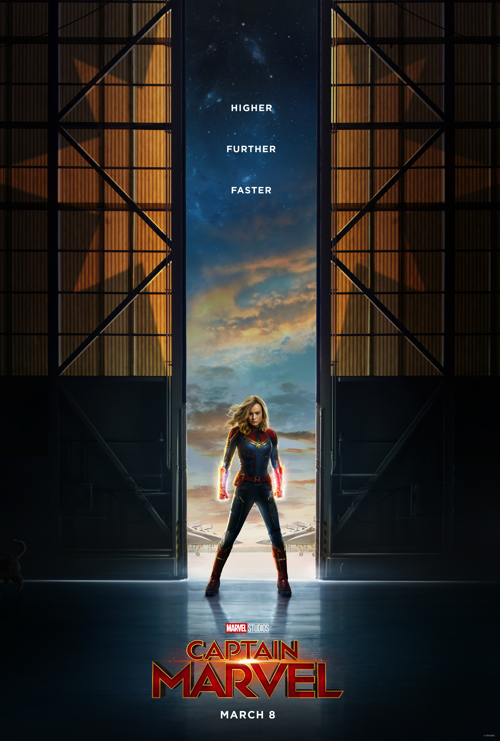 #CaptainMarvel NEW Trailer Out Today! In theaters on March 8th, 2019