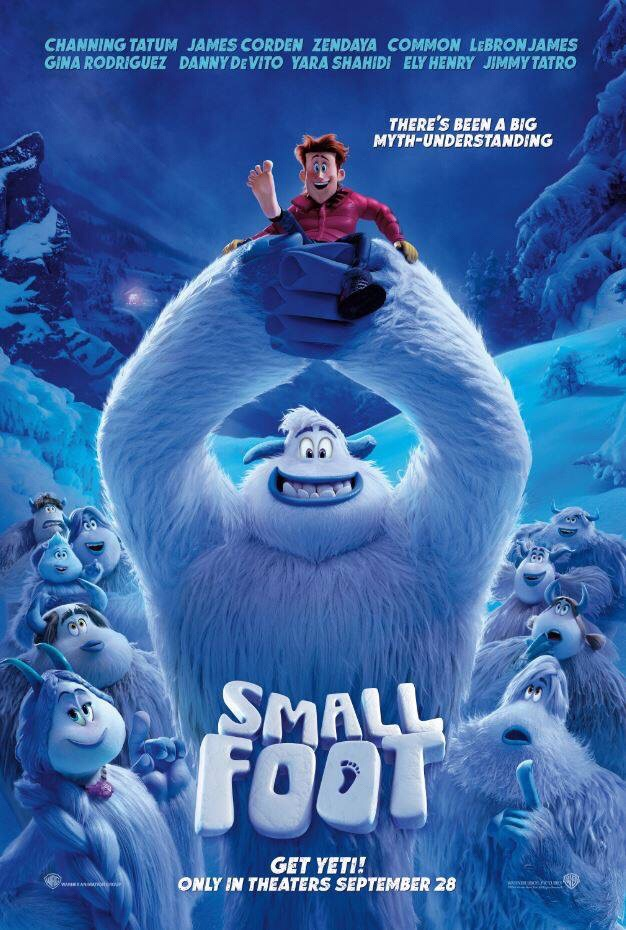 #Smallfoot Movie Sneak Peak in #Tampa // Giveaway from Tampa Mama