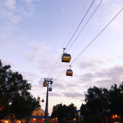 Disney Day Tip: Why the Disney Skyliner is The Best Way to Get Around Walt Disney World