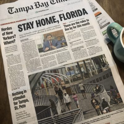 Tampa Mama CoronaVirus: A #QuarantineChronicles- Day 1