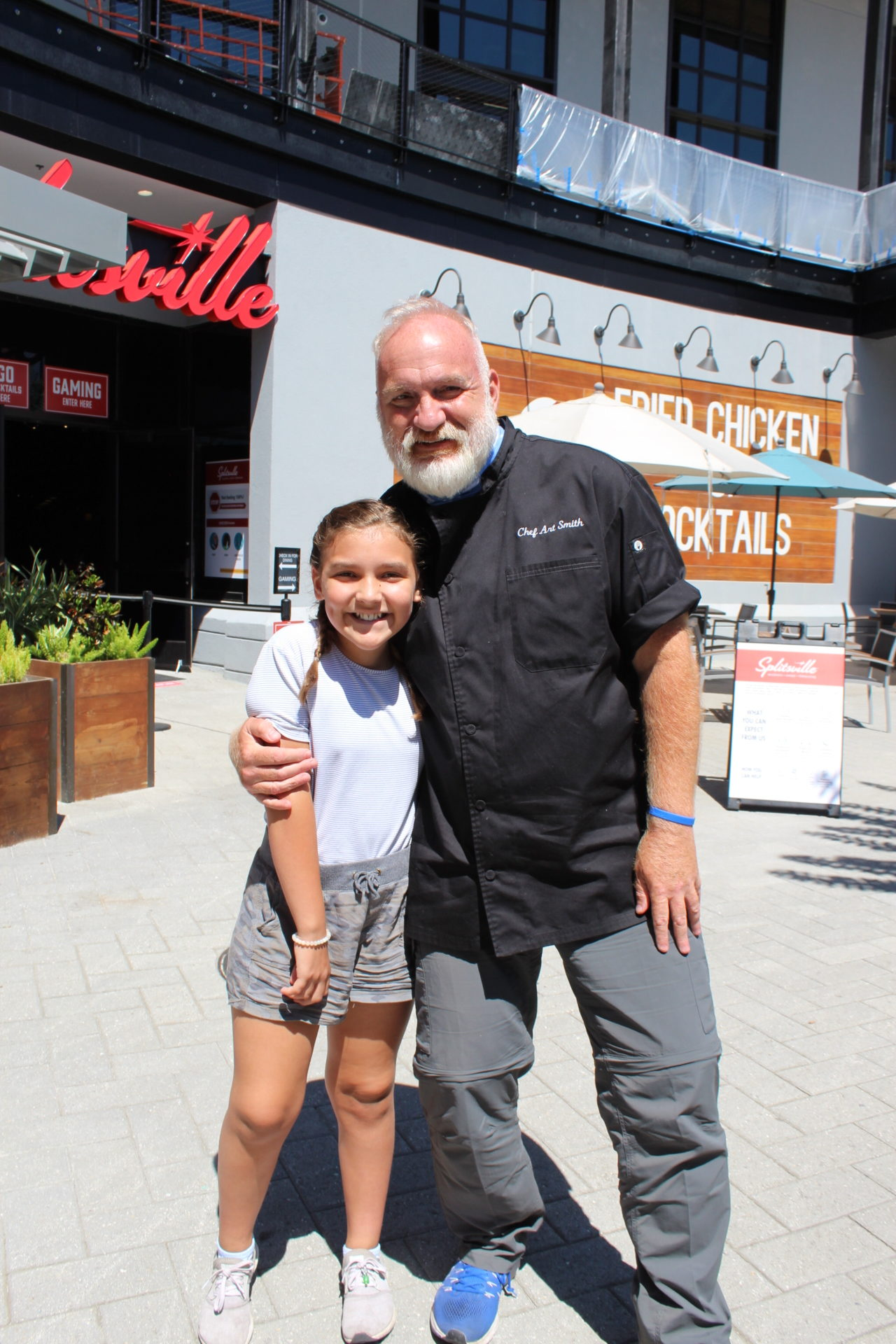 Chef Art Smith with Shelby Langford