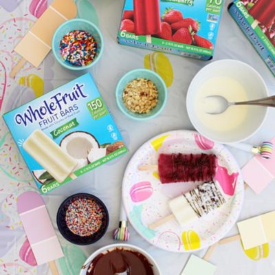 POPSICLE PARTY: DIY Popsicle Bar & a Whole LOTTA Fun